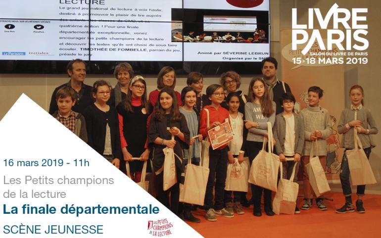 Livre Paris 2019 La Finale Departementale Des Petits
