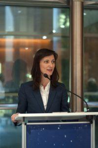 La Commissaire à la Stratégie numérique Mariya Gabriel