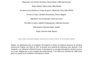 thumbnail of CP PRIX VENDREDI – 10 romans sélectionnés